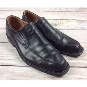 ECCO Leather Slip On Loafer Shoes 44 10-10.5